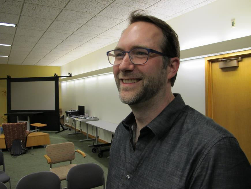 Jeffrey Heer. Courtesy Research Computing Center.