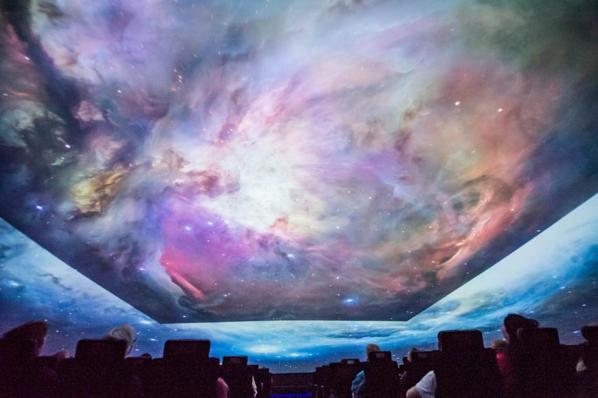Planetarium show. Courtesy Mark SubbaRao.