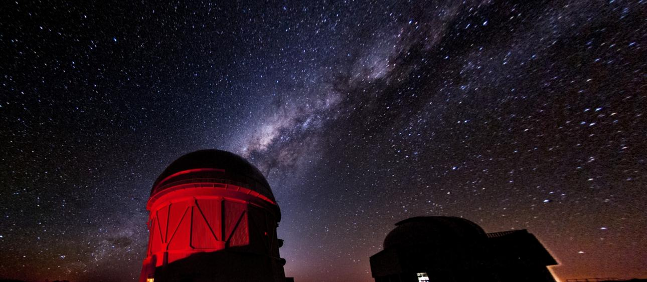 The Dark Energy Survey's instruments will be located at Cerro Tololo Inter-American Observatory in Chile, but their data will be analyzed around the world using a program developed with RCC resources. Photograph by Reidar Hahn.